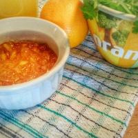 Poulet rôti à la marmelade d'orange