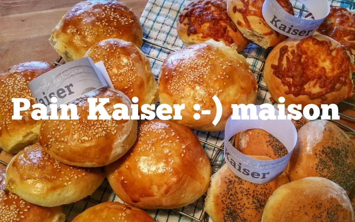 Pain Kaiser maison: Frais fait à la maison...