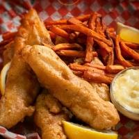 Fish & chips de morue à la bière