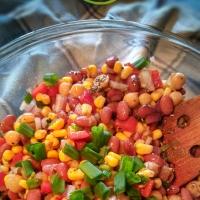 Salade de légumineuses: Colorama santé