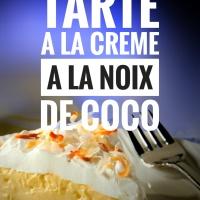 Tarte à la crème à la noix de coco: Un délice prêt en un éclair...