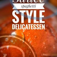 Sauce à spaghetti style delicatessen: Comme au restaurant...