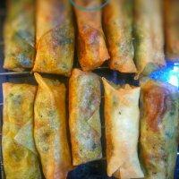 Samoussas aux légumes style indien: Tradition culinaire des saveurs & épices exotiques...