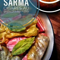 Sarma/cigares au chou: Un plat typique des Balkans...