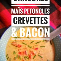 """Chaudrée de maïs, pétoncles, crevettes & bacon: Ce délice """"Hobo"""" à l'américaine..."""