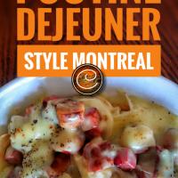 Poutine déjeuner style Montréal: Ces matins gargantuesques au Québec...