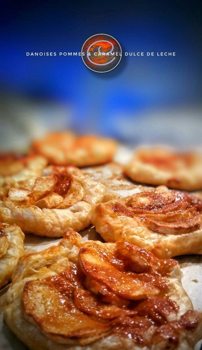 Danoises (rapides) pommes & caramel dulche de leche: La perfection existe...