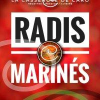 Radis marinés: Exotiques, sucrés, salés, tendres, croquants & vinaigrés...
