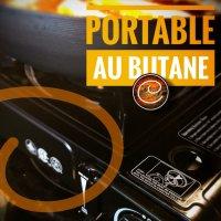 Gadget: Four portatif au butane: Une merveille durable en cas de panne & cuisine au quotidien...