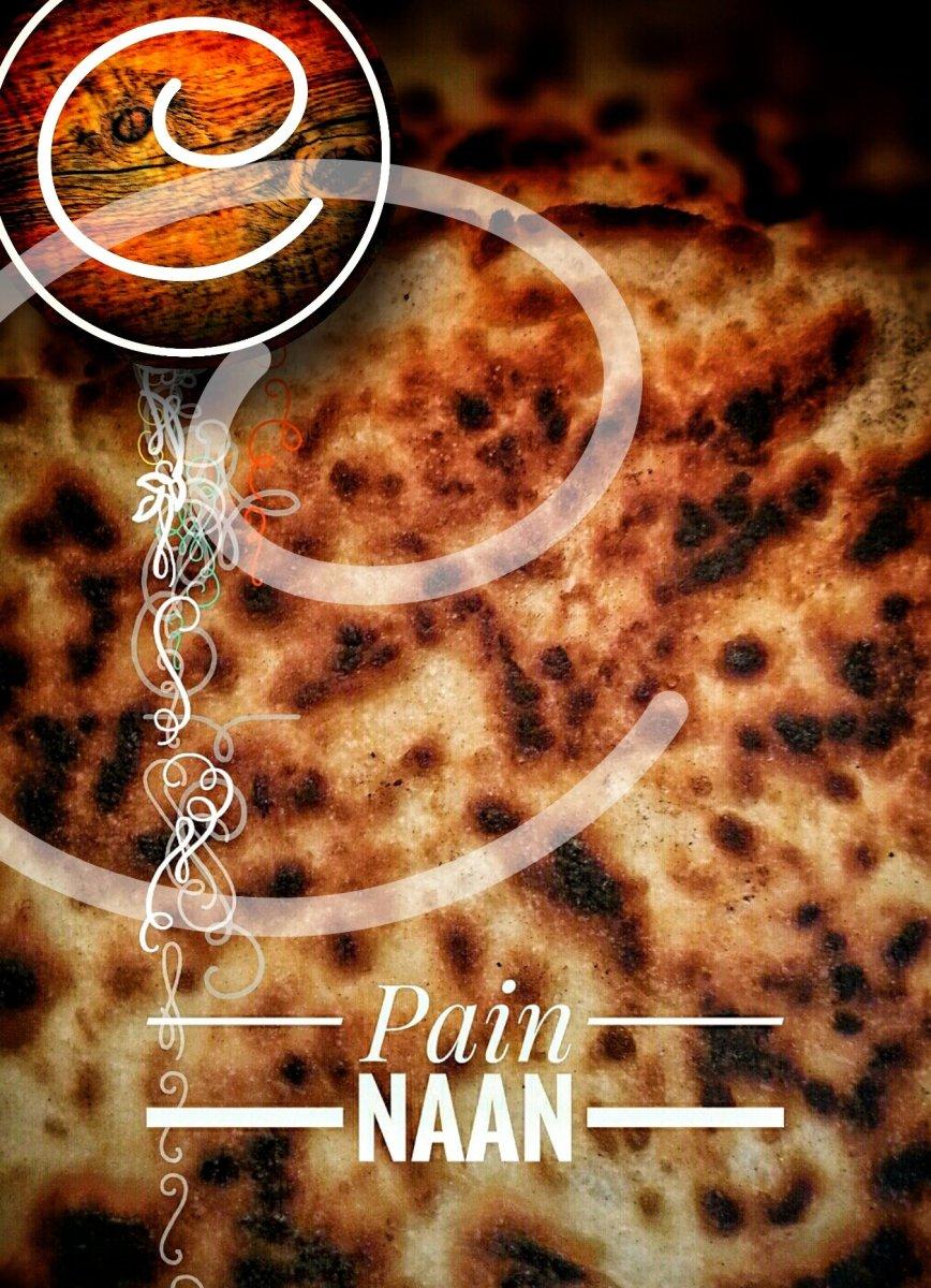 Pain naan (fait maison): Ce parfait pain exotique...