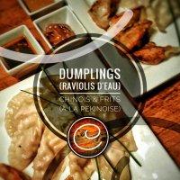 Dumplings (raviolis d'eau/frits) pékinois: Ces fabuleux délices de Chine...