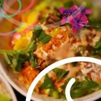 Bol poke du printemps / crevette, mangue & homard: Acceuillir le printemps en délicieuses couleurs...
