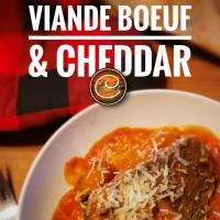 Pain de viande boeuf & cheddar (& rapinis): Festin d'automne ensoleillé...
