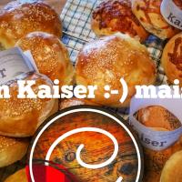Pains Kaiser: Frais faits maison...