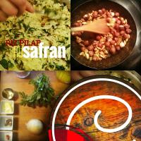 Riz pilaf au safran: Parfait pour accompagner vos mets BBQ...
