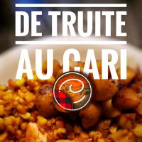 Filets de truite au cari, miel & moutarde de Dijon: Plaisir d'été...