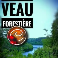 Côtes de veau forestière: Champignons  & sauce boisée à l'honneur...