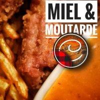 Côtes levées frites (sauce miel & moutarde): Réinventer les côtes levées & aimer une sauce...