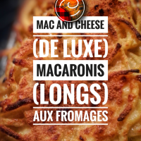 "Macaronis longs aux fromages (au vin blanc): Le ""Mac and cheese"" de luxe..."