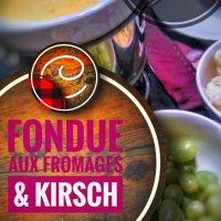Fondue aux fromages & kirsch: Une soirée du temps des fêtes réussie…